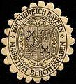 Siegelmarke Koenigreich Bayern Magistrat Berchtesgaden W0310168.jpg