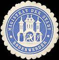 Siegelmarke Magistrat der Stadt Bodenwerder W0212639.jpg