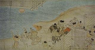 Rouleaux des légendes du mont Shigi