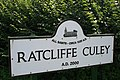 Sign For Ratcliffe Culey - geograph.org.uk - 1439983.jpg