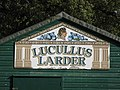 Sign for Lucullus Larder - geograph.org.uk - 1057806.jpg