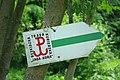 """Sign of Beskidzka Trasa Kurierska """"Jaga–Kora"""" 1.jpg"""