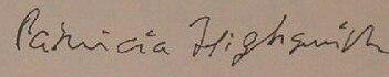 Signature highsmith