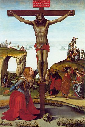 Crucifixion with Mary Magdalen