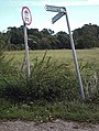 Signs at Fleming's - geograph.org.uk - 544607.jpg