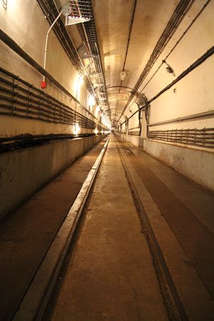 Ouvrage Simserhof - Simserhof tunnel