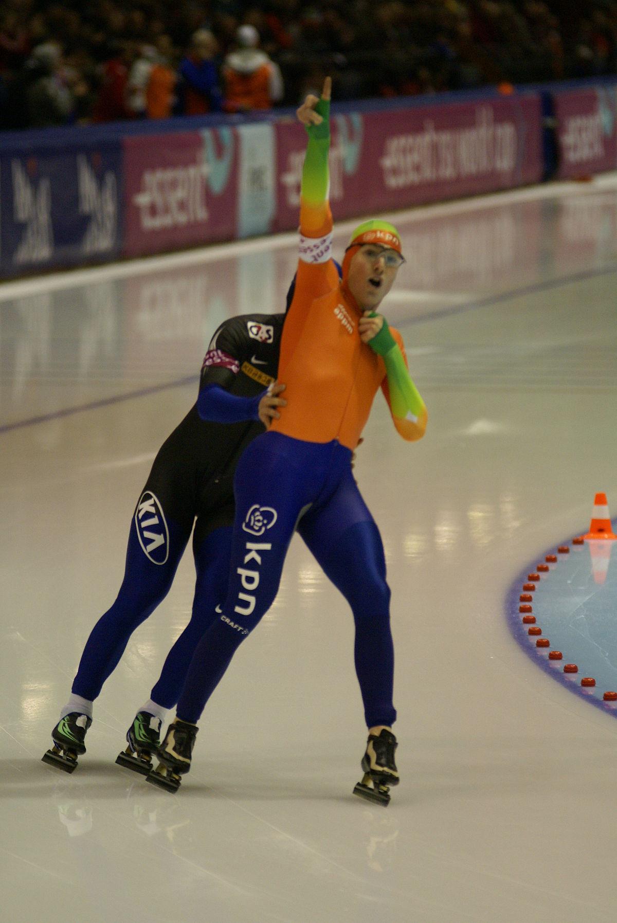 Sjoerd de Vries (schaatser) - Wikipedia
