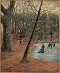 Skaters in Frederiksberg Park (1884 painting).jpg