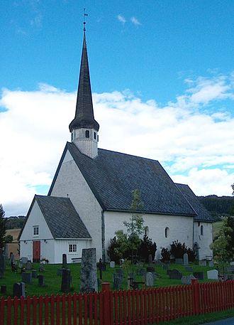 Skaun - View of Skaun Church
