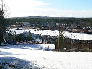 Swedish Ski Games - Lugnet during the 2008 event
