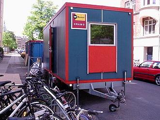 Construction trailer - Modern construction trailer