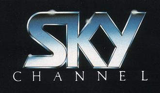 Sky One - Sky Channel logo, January 1984 to February 1989.