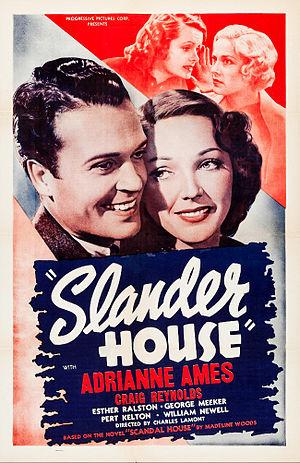 Slander House - Film poster