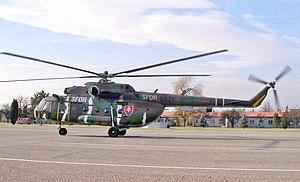 Slovak Air Force - A Mi-17 of the Slovak Air Force