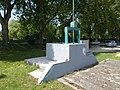 Sluice at Szent Erzsébet Bridge in Esztergom, Hungary.jpg