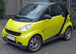2010 Smart ForTwo Mini Car