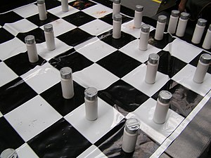 Spice Chess - Smell Chess being played at Tate Modern, May 2008
