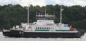 Nesodden–Bundefjord Dampskipsselskap - The ferry Smørbukk