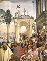 Sodoma - Life of St Benedict, Scene 12 - Benedict Receives Maurus and Placidus (detail) - WGA21574.jpg