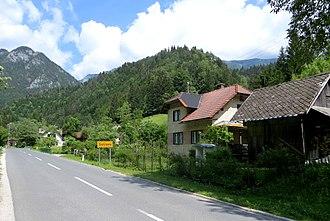 Solčava - Image: Solcava Slovenia 1