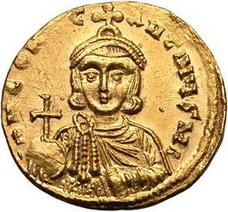 Constantine V - Constantine V - gold solidus