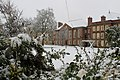 Somerville College Hall in snow, from Chapel.jpg
