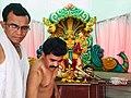 Somvati Mahayag at Veerabhadra Devathan Vadhav in presence of Balyogi Om Shakti Maharaj. 18.jpg