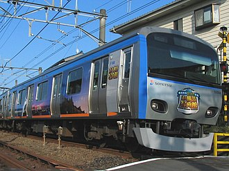 Sotetsu 10000 series - Image: Sotetsu 10000 New color