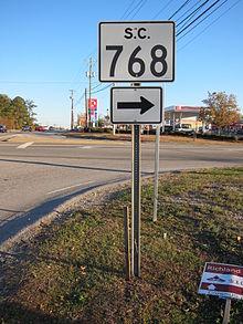 220px-South_Carolina_Highway_768_Sign.JP