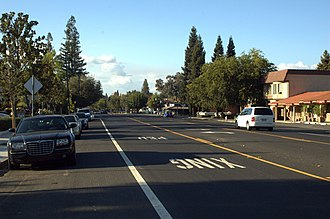 Alamo, California - Downtown Alamo