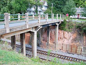 Southern Railway Company Overhead Bridge - Image: Southern Railway Overhead Bridge