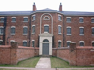 William Adams Nicholson - Southwell - Workhouse, 1824