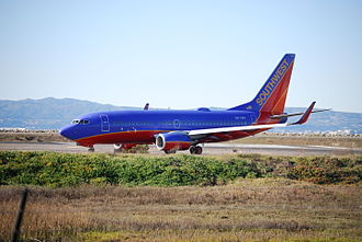 Southwest Airlines - Canyon Blue livery used from 2001 to 2014