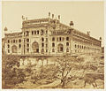 Southwest view of the Bara Imambara, Lucknow in 1858.jpg