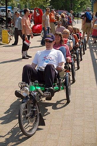 Hase Spezialräder - Image: Spezialradmesse 2007 Kettwieselzug