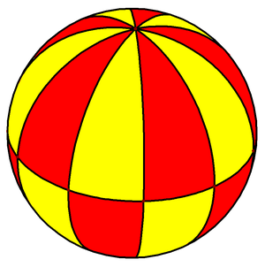 Triangle group - Image: Spherical decagonal bipyramid 2