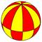 Spherical decagonal bipyramid2