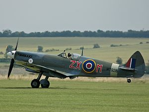 Supermarine Spitfire (late Merlin-powered variants) - Spitfire Mk VIII