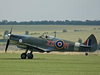 Supermarine Spitfire (late Merlin-powered variants) - Spitfire Mk VIII