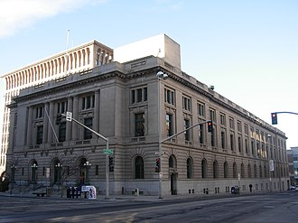 United States Post Office, Courthouse, and Custom House (Spokane, Washington) - U.S. Post Office, Courthouse, and Custom House, December 2007
