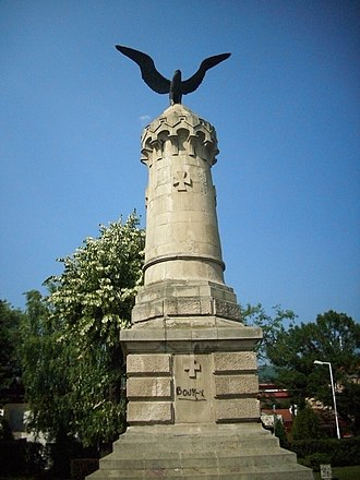 Pirot - Monument to fallen soldiers during the Serbian-Ottoman War (1876–1877)
