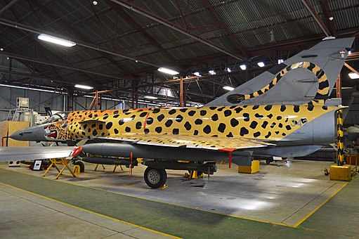 Spotty at the South African Air Force Museum (1)