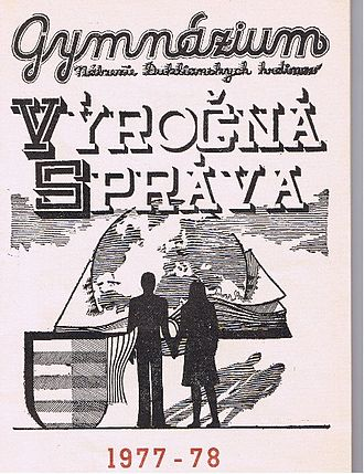 Yearbook - Slovak yearbook from the 1977–78 academic year