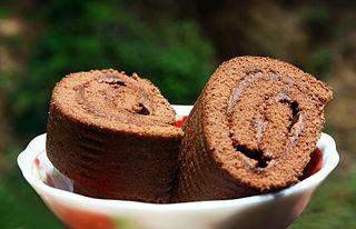 Swiss roll Dessert