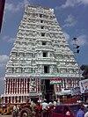 श्रीकालहस्ती मंदिर का मुख्य गोपुरम