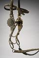 Stångbett med skänklar. Del av huvudlag Kröningssadel. Drottning Kristina - Livrustkammaren - 86654.tif