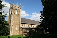 St.Peter's church, Bottesford - geograph.org.uk - 235539.jpg