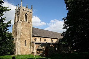 Bottesford, Lincolnshire - Image: St.Peter's church, Bottesford geograph.org.uk 235539