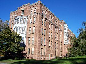 Saint Bernard's Seminary - Image: St. Bernard's Seminary south wing
