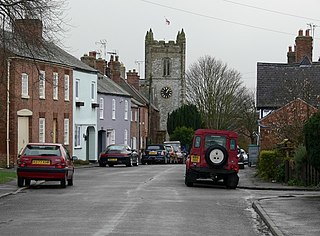 Arnesby village in the United Kingdom